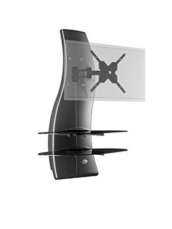 Porta Tv Meliconi Ghost Design 2000.Meliconi Ghost Design 2000 Rotation Swivel Tilt Wall Bracket System For All 32 63 Inch Tv Ledlcd Plasma Glass Shelfes Max Vesa 400 Made In Italy