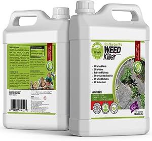 ECO Garden PRO - Organic Vinegar Weed Killer | Kid Safe Pet Safe | Clover Killer for Lawns | Moss Killer | Green Grass & Poison Ivy Killer | Spray Ready Glyphosate Free Herbicide (1 Gallon)