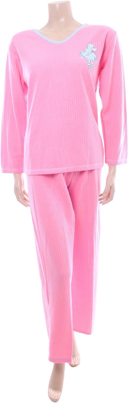 Para mujer de color rosa de pijama juego por texto en inglés ...