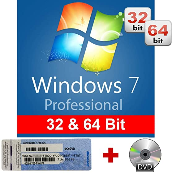 Windows 7 Professional 32/64 Bit OEM