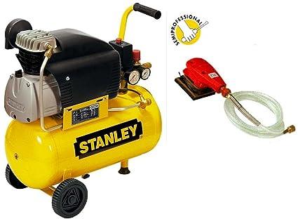 Compresor Aire Stanley D210/8/24 24 LT lubrificato 2 HP 8 bar +