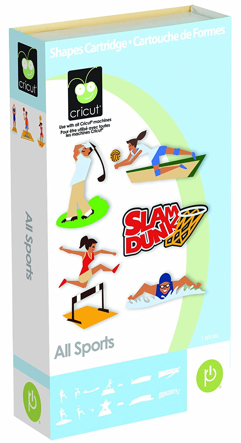 Cricut 2000932 All Sports Cartridge