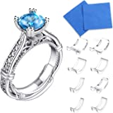 16 Packs Ring Size Adjuster Invisible Ring Size Adjuster for Loose Rings Ring Adjuster Size Fit Any Rings Ring Guard…