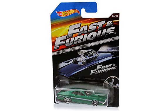 Ford Hot Wheels - Modelo de Coche de la Película The Fast and The Furious en Escala 1:64 - 1972 Grand Torino Sport, Automóvile de Colección de Fundición a ...