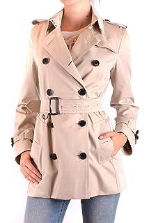 7d25e57b996aeb BURBERRY Femme Mcbi056343o Beige Coton Trench Coat  Amazon.fr ...