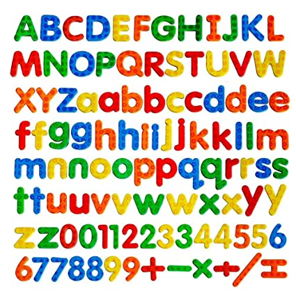 kadron magnetic letters abc magnets education alphabet letters and numbers fridge magnets kids gifts 104pcs