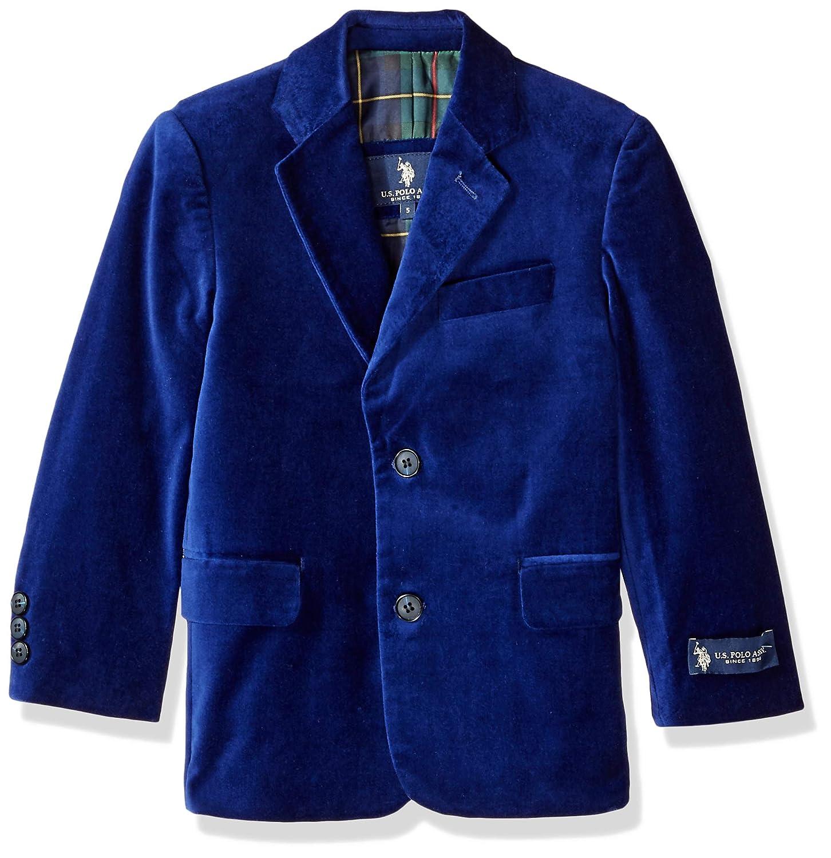 U.S. Polo Assn. Boys' Velvet Blazer