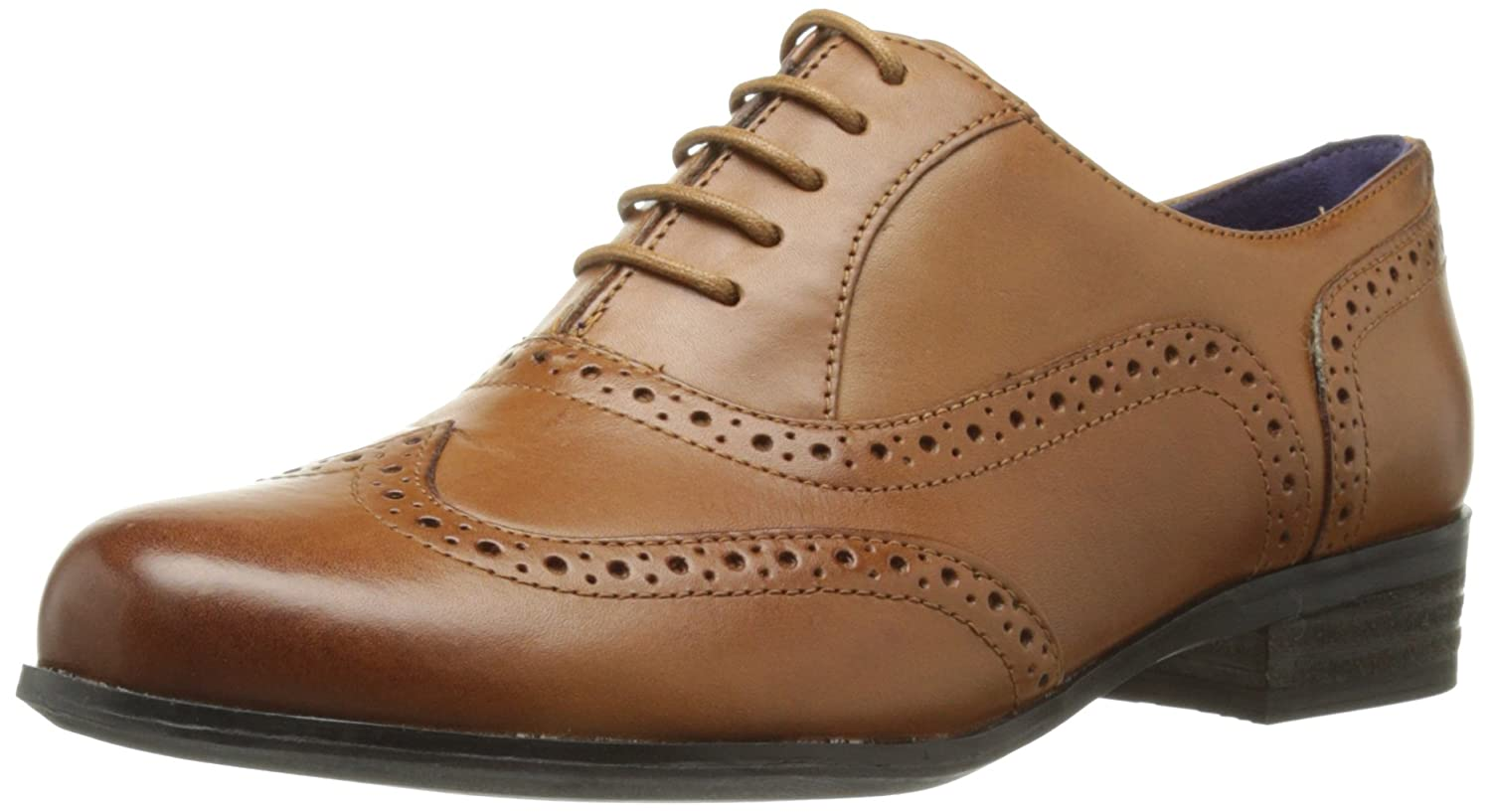 Clarks  Hamble Oak, Scarpe basse donna Marrone (Dark Tan Lea)