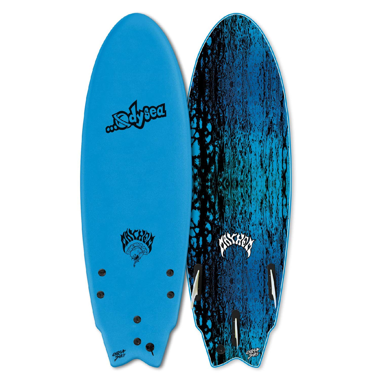 Catch Surf Odysea x .LostRNF 5フィート5インチ (ブルー) ウェイクサーファー   B07PLBK1TM