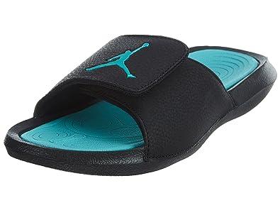 7cc50aa49af00 Nike Youth Jordan Hydro 6 Black Hyper Jade Synthetic Sandals 36 EU ...