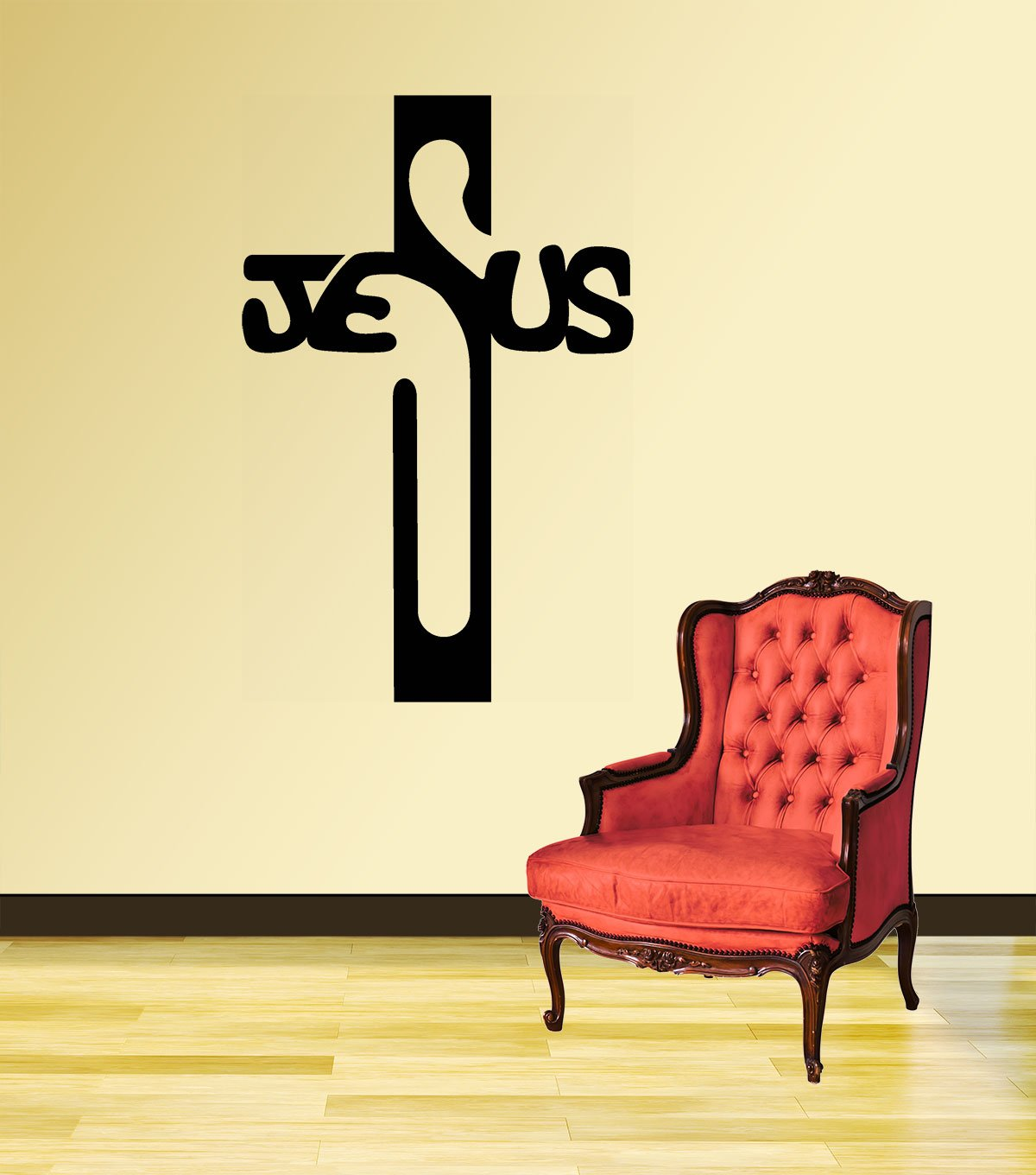 Buy New way Decals- Wall Sticker (4604) \'\'Lord Jesus Design\'\' Online ...