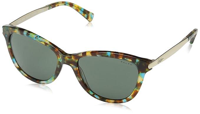 Ralph Lauren RALPH BY 0Ra5201 Gafas de sol, Teal Tortoise/Gold, 54 para Mujer