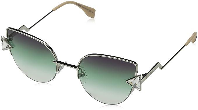 7b76dc7ffe Amazon.com  FENDI Rainbow FF 0242 VGV QC Sunglasses  Fendi  Clothing