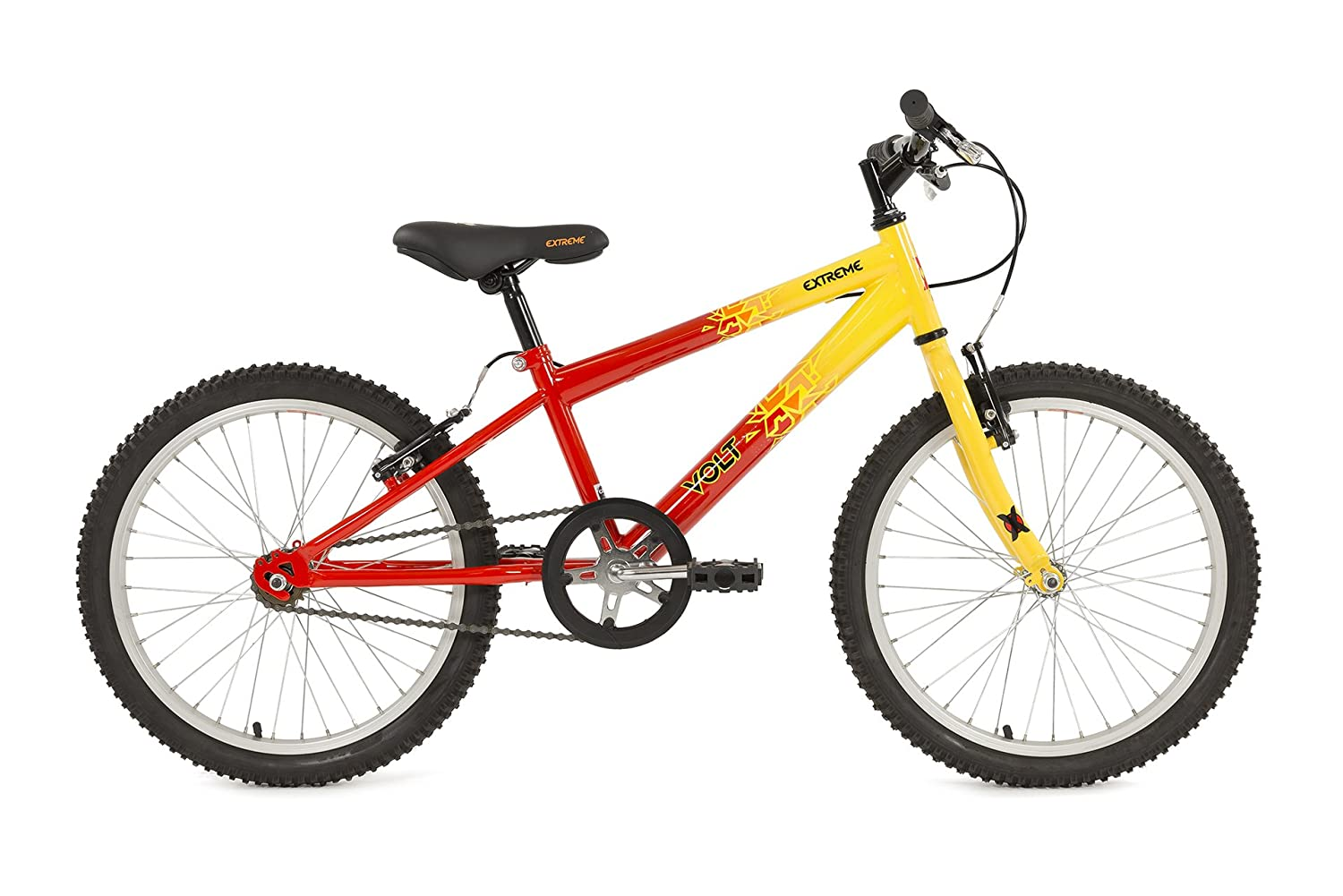 0dad43ef9b6 Extreme Boy s Ext Volt 20 11 R B Bike - Red And Yellow