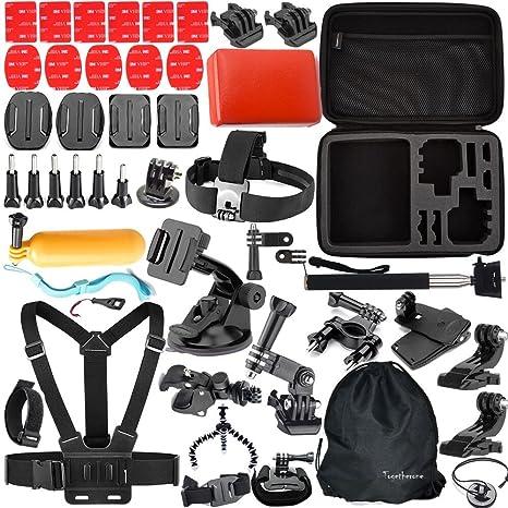 togetherone 46 en 1 Essentiel Kit de Accesorio para GoPro Hero ...