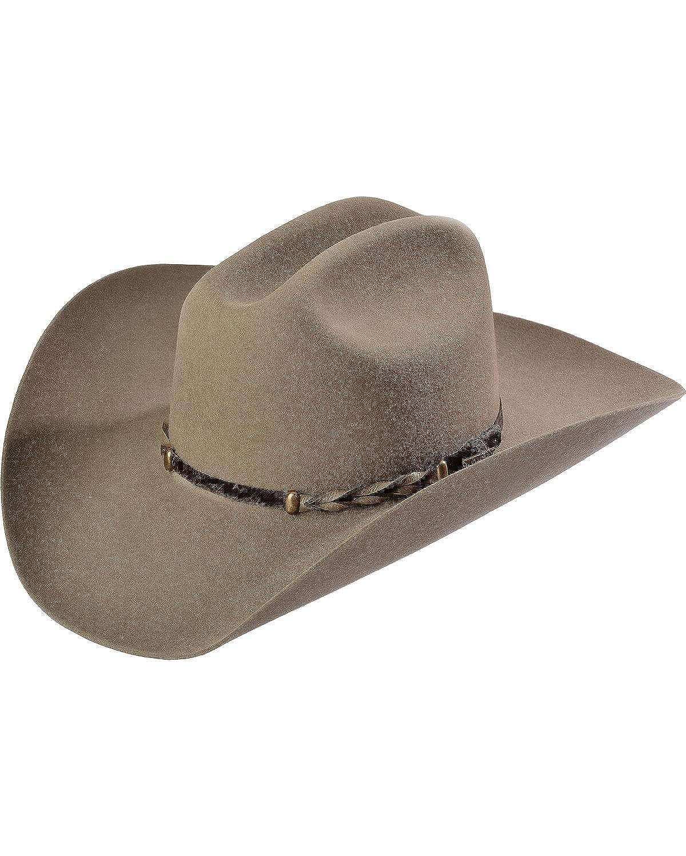 Stetson Men s Stone Portage 4X Buffalo Felt Cowboy Hat at Amazon Men s  Clothing store  Stetson Hat For Men Buffalo 2f5e4470f2c