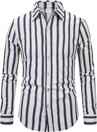 jfhrfged - Camiseta de Manga Larga de algodón para Hombre ...