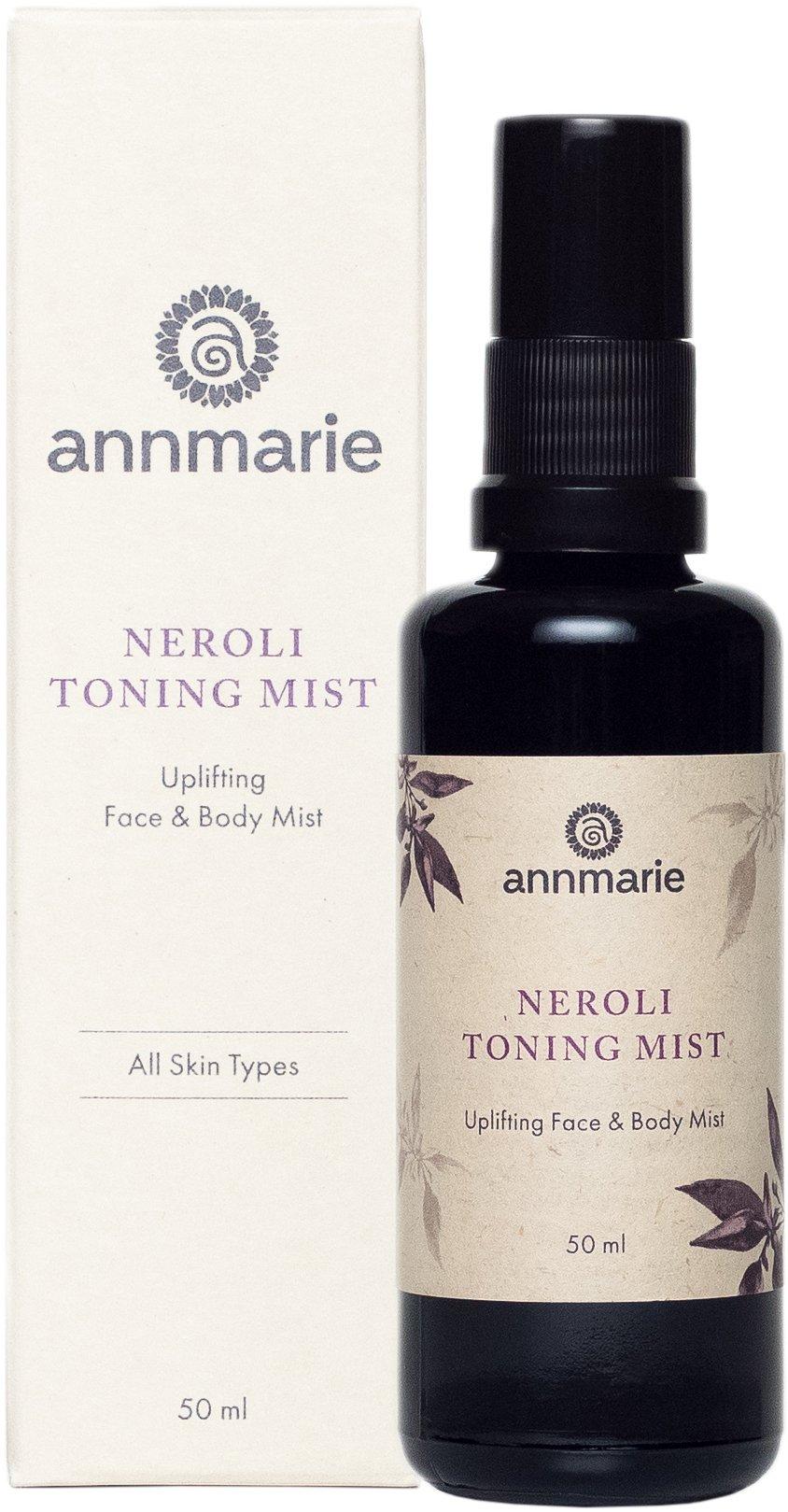 Annmarie Skin Care Neroli Toning Mist - Face and Body Mist with Neroli Essential Oil, Aloe Vera + Aspen Bark Extract (50 Milliliters, 1.7 Fluid Ounces)