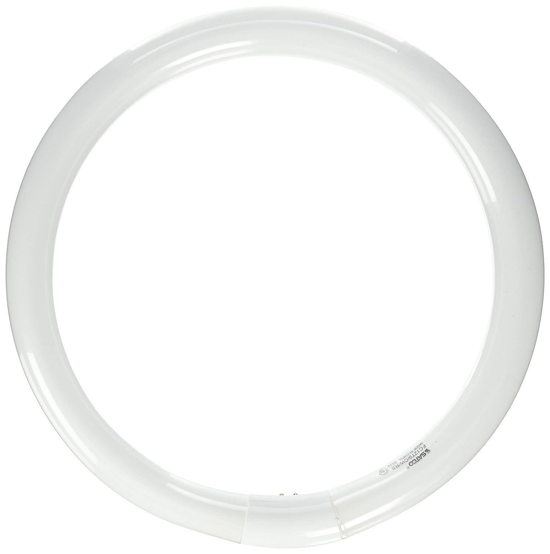 Satco S6503 4100K 32-Watt 4 Pin T9 Circline Lamp, Cool White