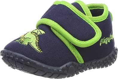 Playshoes Hausschuh Drache, Zapatillas de Estar por casa Unisex niños