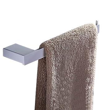 Lonfenner Cepillado de 304 Acero Inoxidable Cuarto de baño Accesorios Toalla Barra Lateral Barra baño toallero de Barra Barra de Acero Inoxidable Toalla ...