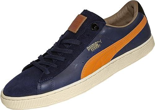 Puma basket classic mmq - Zapatillas de cuero para hombre negro negro 63047964b3c35