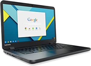 Lenovo 14in IdeaPad N42-20 Chromebook, Intel N3060 Dual-Core, 16GB eMMC SSD, 4GB DDR3, 802.11ac, Bluetooth, ChromeOS (Renewed)