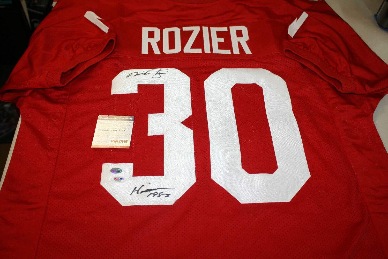 pretty nice 63ceb 40406 Nebraska Cornhuskers Mike Rozier #30 Autographed Signed ...