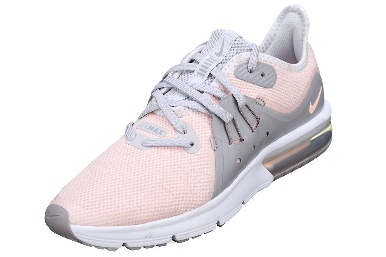 official photos 8ef0b afff8 Nike Basket Fille Air Max Sequent 3 GS 922885-004 RoseGris