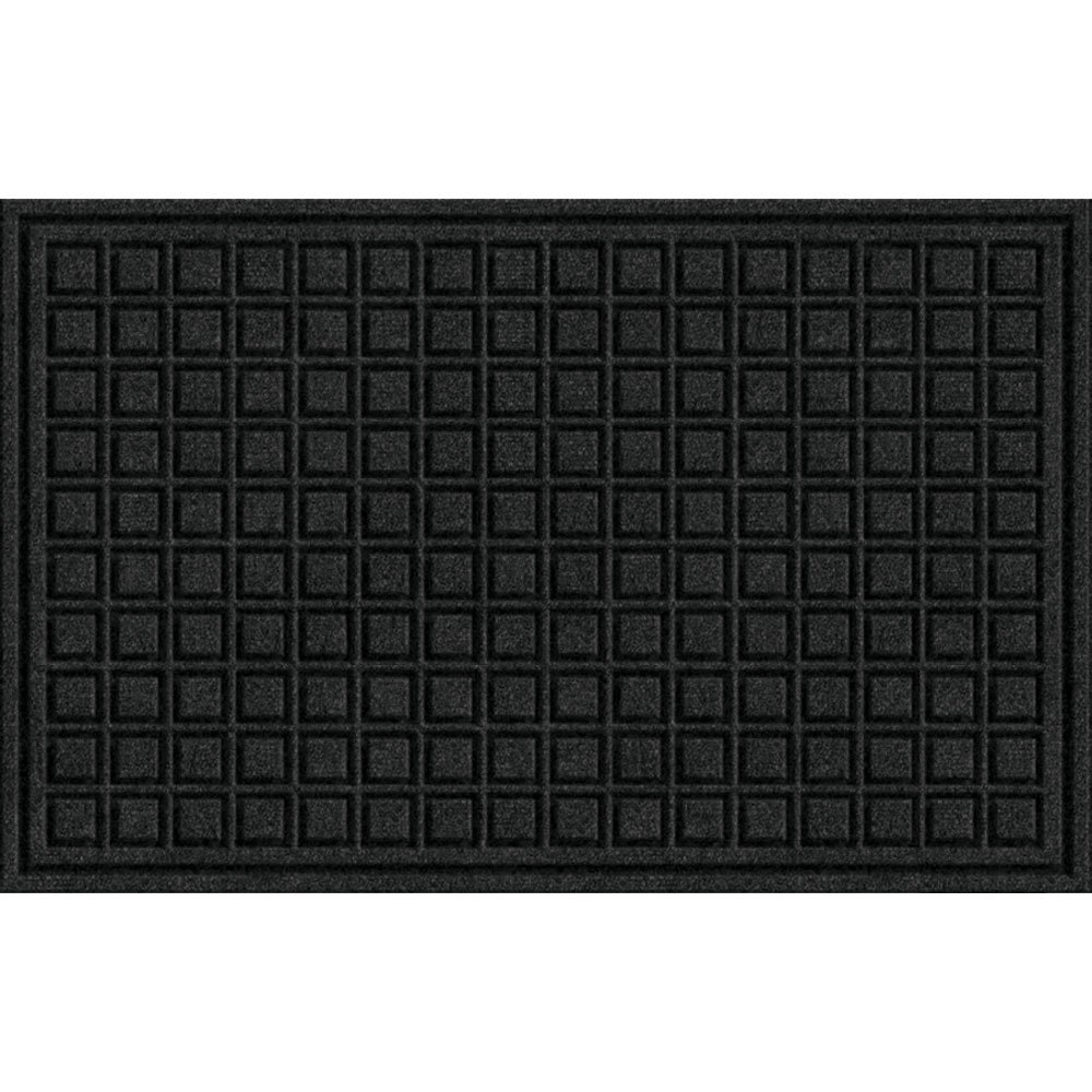 Textures Blocks Entrance Door Mat 18 Inch By 30 Inch Onyx Buy Online In Andorra At Andorra Desertcart Com Productid 2526923