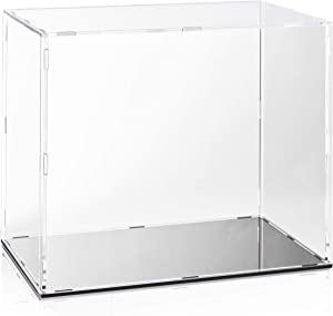 Juvale Clear Acrylic Display Case, Showcase Box for Home, Office Decor (10 x 6 x 8 in)