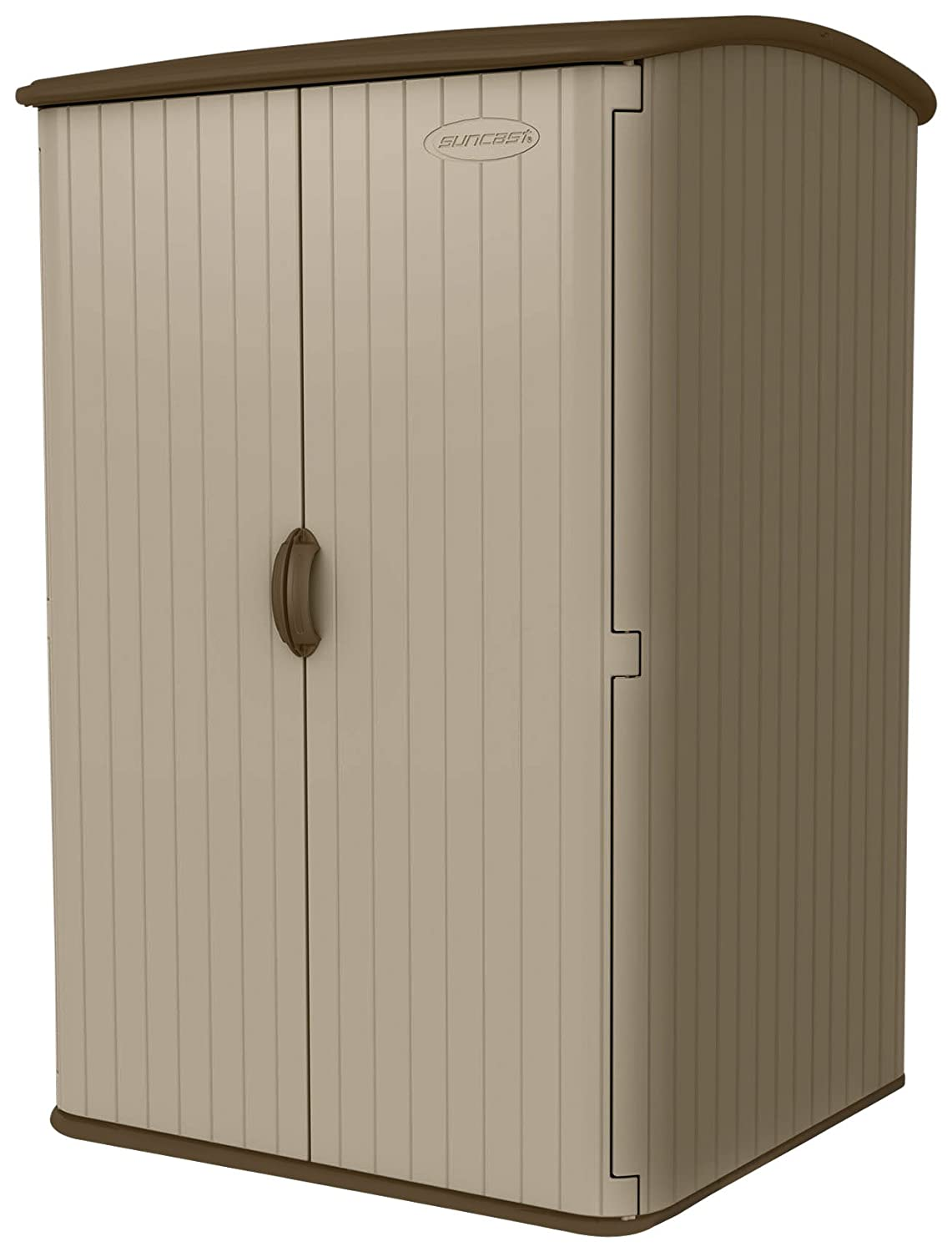 Etonnant Amazon.com : Suncast BMS6500 98 Cubic Foot Vertical Blowmolded Shed : Storage  Sheds : Garden U0026 Outdoor