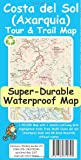 Costa del Sol (Axarquia) Tour and Trail Super-Durable Map