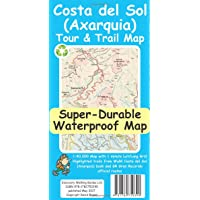 Costa del Sol (Axarquia) Tour and Trail Super Durable Map