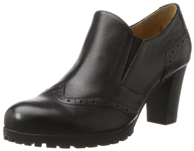 Caprice 24700, Zapatos de Tacón para Mujer 37.5 EU Negro (Black Nappa)