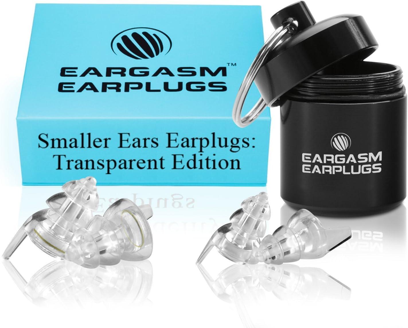 Eargasm Smaller Ears Earplugs: Transparent Edition