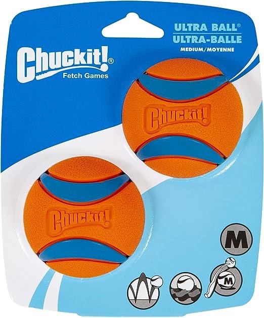 Chuckit Ultra Ball Medium - 2 Pelotas para Perros: Amazon.es ...