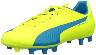 cheap for discount 1860e 5fb0d Puma Evospeed 5 4 Fg, Chaussures de football garçon - Jaune (Safety Yellow