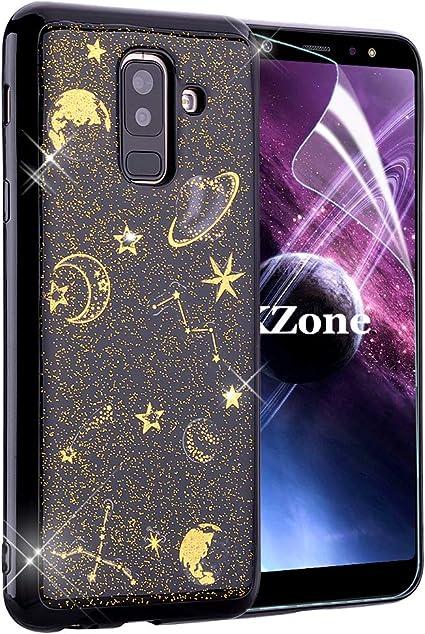 OKZone Funda Galaxy A6 Plus 2018, [Serie Noche Estrellada] Cárcasa ...
