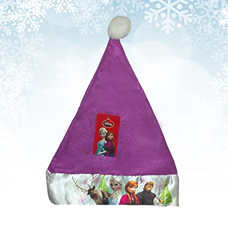 Amazon.com: Disney Frozen Kiss It Paint It Set+ Christmas Felt Hat 16inch with satin+ Anklets Socks 6-8 1/2 on Header Card: Toys & Games