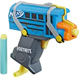 Fortnite Micro Battle Bus Nerf Microshots Dart-Firing Toy Blaster & 2 Official Elite Darts for Kids