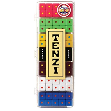 Tenzi Dice Party Game - Colors May Vary - 6 Sets of 10 Colored Dice
