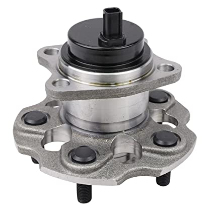 CRS NT512509 New Wheel Bearing Hub Assembly, Rear Left (Driver)/ Right  (Passenger) Side, for 2012-2016 Toyota Prius, Exactly replace 512509