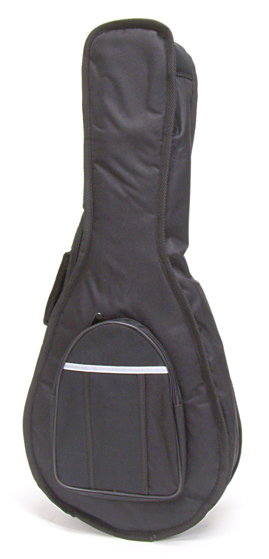 Deluxe Thick Padded Mandolin Gig Bag (soft case) - With Zippered Pouch,Back Pack Straps, and Carrying Handle