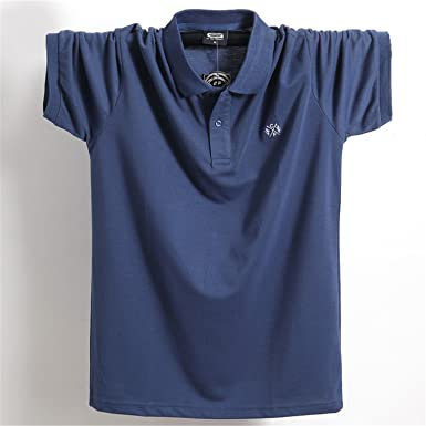 a29b363a6 Sonjer 2018 Summer Men Polo Shirt Clothing Pure Cotton Men Business Casual  Male Polo Shirt Short
