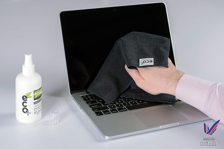 sicher f/ür alle Telefone Laptop- und Tablet-Bildschirme Bildschirmreinigungs-Spr/ühflasche mit Schutzh/ülle Touchscreen-Nebelreiniger