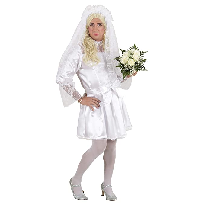 WIDMANN 8920s ? Disfraz de novia, Macho, De Talla XL: Amazon.es ...