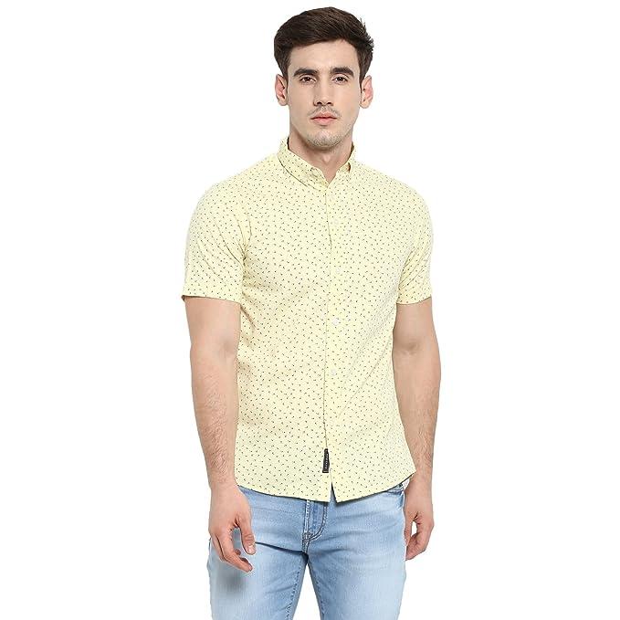7c15bbe88 Red Tape Men's Printed Regular Fit Casual Shirt Men's Casual Shirts