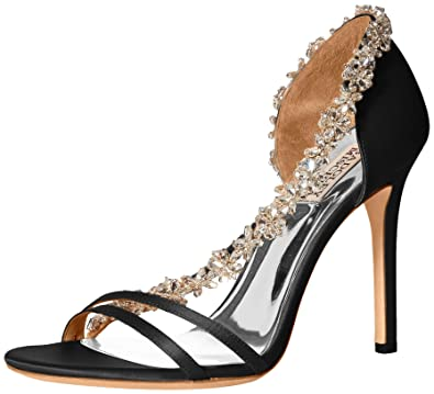 0500c6819ac Amazon.com  Badgley Mischka Women s Voletta Heeled Sandal  Badgley ...