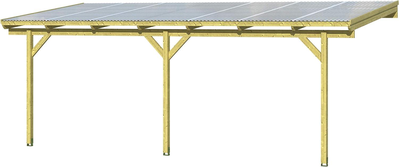 Skan Holz Pisa - Cubierta para terraza (700 x 300 cm, Trapezoidal ...